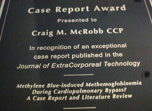McRobb Receives Award
