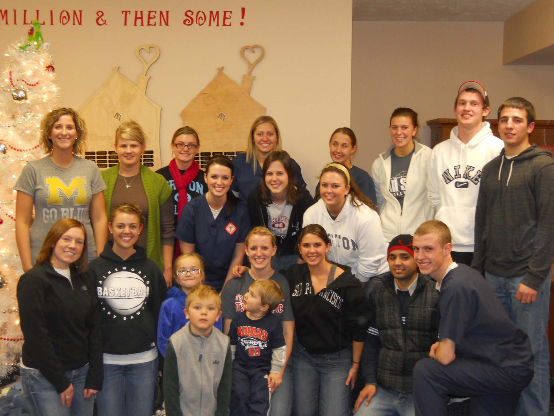 RSTE students at the Ronald McDonald House
