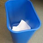 photo of recycle bin
