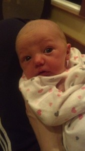 Photo of baby Kinley