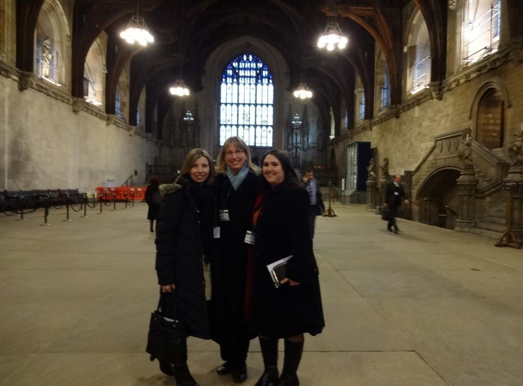 Kate Straughton (current President of UKAPA), Tami Ritsema, and Jeannie Watkins (Past President of UKAPA).