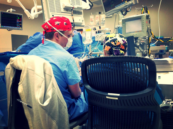 Kellen Goldberg mentors Kelly Cole during first heart transplant at new hospital in Alabama.