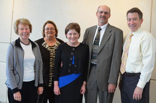 photo of Dr. Hageman award ceremony