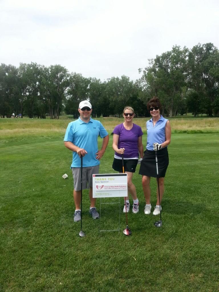 Craig Boyer, Kim Ager, and Pat O'Neil at SHARING the Green