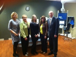 Tour of Mary Lanning Hospital state-of-the-art imaging equipment provided by Jean Korth, Education Director, and Cristi Engel, Radiography Program Director.