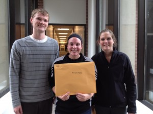 Winners: Ryan Wessel, Amanda Kroymann, and Geri Finn