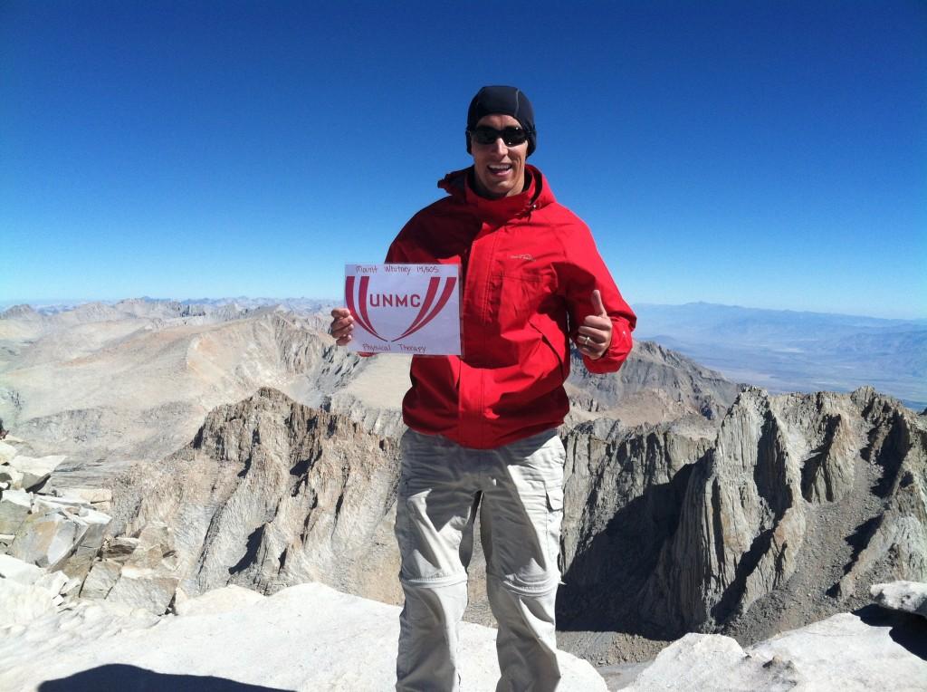 photo of Robert Mason on mountain