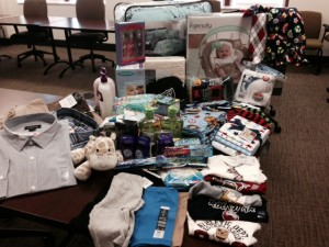 Adopt-a-Family gifts purchased from donations.