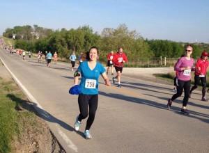 Geri Finn running