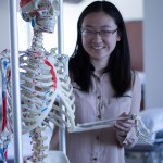 A friend in the Musculoskeletal Lab