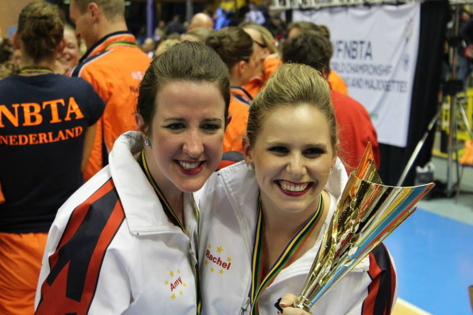 Amy Burger (l) and Rachel O'Donnell (r)