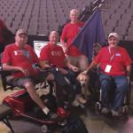 Jim and fellow veterans