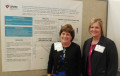 Patricia Hageman with collaborator Christine Eisenhauer, PhD from the College of Nursing