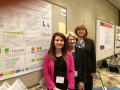 Victoria Kennel, Katherine Jones, PhD, and Anne Skinner with their poster