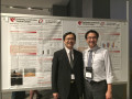 Chun-Kai Huang, MS and Ka-Chun Siu, PhD at the American Society of Biomechanics Meeting in August