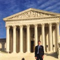 PA student, Mason Van Nostrand in Washington, DC