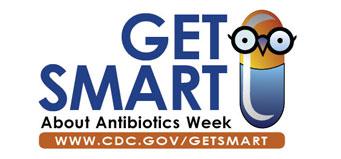 Get Smart about Antibiotics Week logo