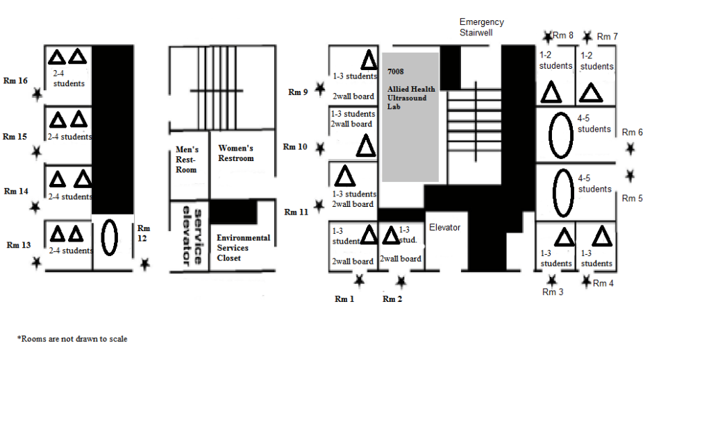Study Rooms Map