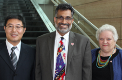 Baojiang Chen, PhD, Dean Ali S. Khan and Eleanor G Rogan, PhD