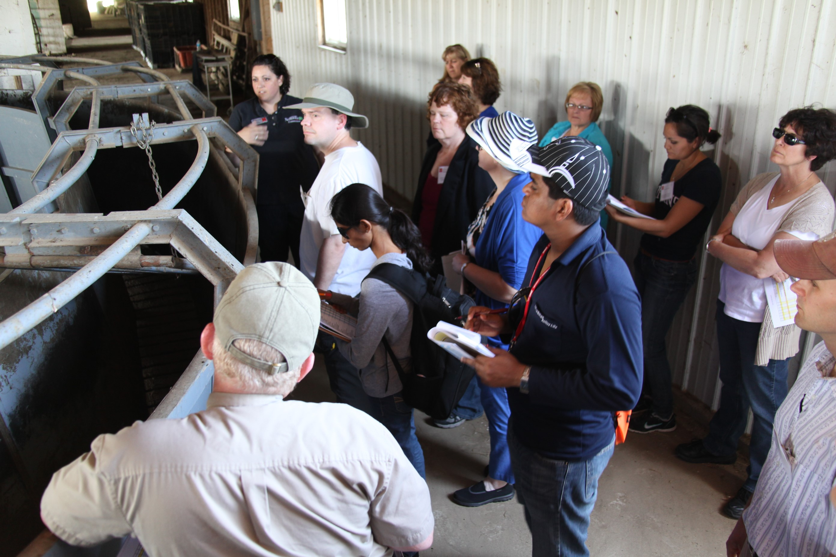 COPH Agricultural Health and Safety Course Farm Tour