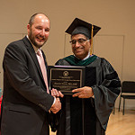 Dr. Carruth J. Wagner, Faculty Prize in Public Health Recipient Dr. Brandon Grimm