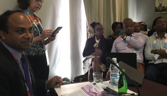 Morshed Alam presenting at ICASA International Conference