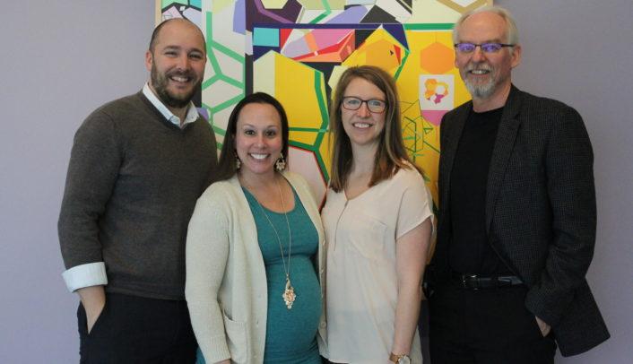 Dr. Brandon Grimm, Dr. Athena Ramos, Chelsey Schlechter, & Dr. David Dzewaltowski