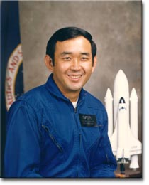 Ellison Onizuka went to space aboard the Space Shuttle Discovery, and was later one of the seven astronauts killed with the crash of the Space Shuttle Challenger.