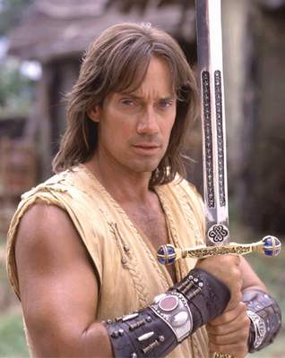 And, on top of that, he got to hang out with Xena, Warrior Princess.
