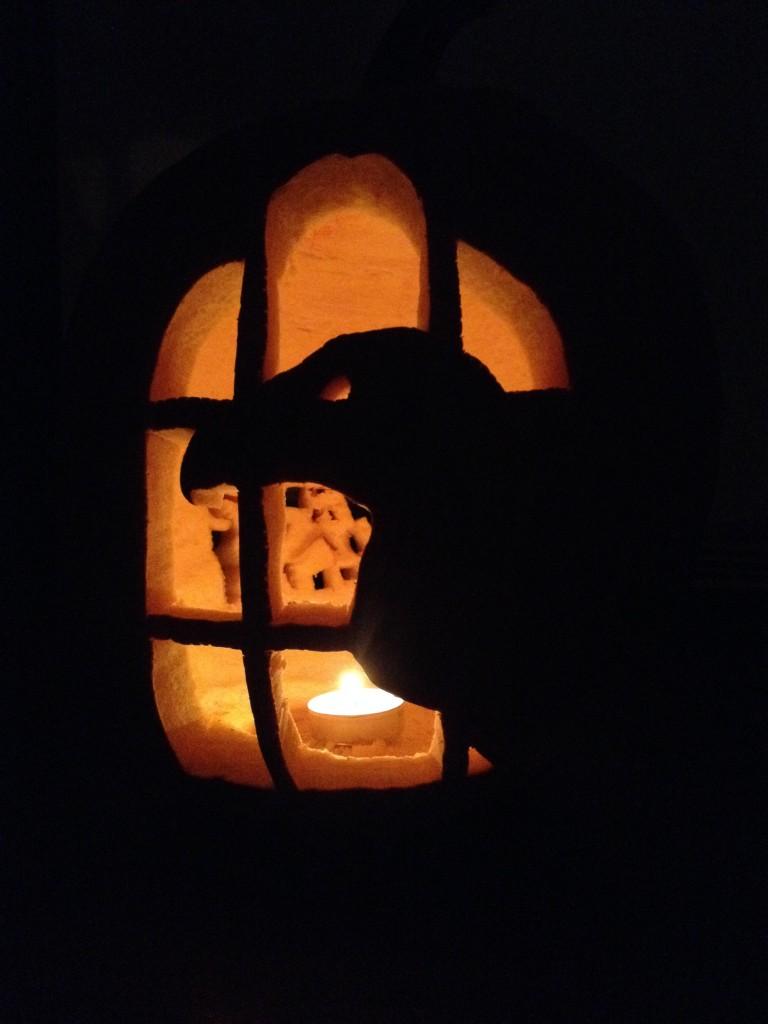 pumpkin raven
