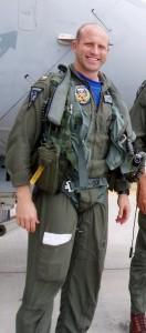 Navy Pilot Lt. Com. Thomas Blake