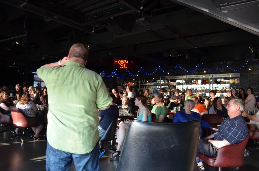 Dr. Irwin addressed a full house at the sexperts' recent Science Cafe.