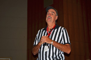 Paul Paulman, M.D., professor of family medicine, served as referee.