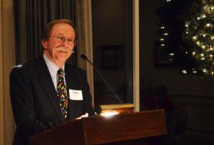 Tom Lutsey helped launch the Nancy Armitage professorship campaign.